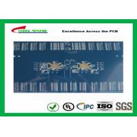 China 3.8mm 12 Layer Quick Turn PCB Prototypes Blue Solder Mask PCB OEM wholesale