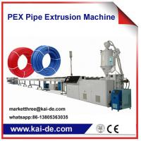 China Cross-linked PEX Tube Extruder Machine Supplier China High Speed 35m/min on sale