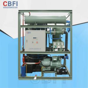 China Saving Power Shell / Tube Ice Making Equipment , Automatic Ice Machine Business wholesale