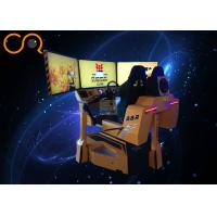 China High Resolution Virtual Car Racing Simulator , Virtual Reality Driving Simulator wholesale