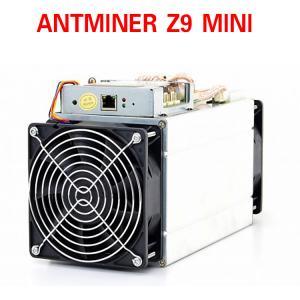 China 65db Bitmain Antminer Z9 mini hashrate 10k Sol/s miner with Equihash hashing algorithm wholesale