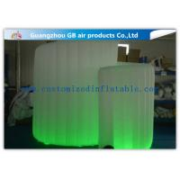 China OEM Available Led Inflatable Photo Booth , Foldable Inflatable Spiral Photo Booth wholesale
