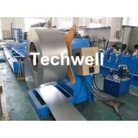 China Hydraulic Or Automatic Decoiler Machine With Automatically Uncoiling , Hydraulic Expanding , Tension wholesale