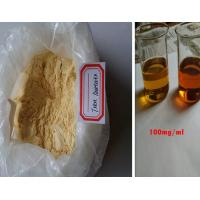 China Androgenic Anabolic Steroids Yellow Trenbolone Acetate Powder For Muscle Building wholesale