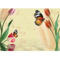 China Simple Butterfly Flowers Bamboo Fiber Products Insulation and Energy Saving wholesale