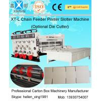 China Automated Corrugated Paper Carton Making Machine , High Precision on sale