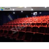 Quality Playground Indoor Movie Theater Sound Vibration 4D Cinema Equipment With 500 Films for sale