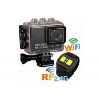 China 1.5 Inch FHD 1080P 50 Meters Waterproof WIFI Action Camera , Remote Control Sports Cameras wholesale