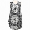 China Printed Casual/Sleeveless/Plus Size Shift Dress wholesale