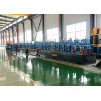 Buy cheap PLC Control SS Tube Mill Machine Round / Square Pipe Making Machine from wholesalers