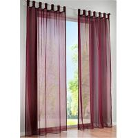 China Shrink Resistant Kitchen Window Curtains , Large Window Curtains Reducing The Sun Shine wholesale