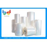 China 40 MIC Clear Blown PVC Heat Shrink Film Rolls For Thermo shrinking / Sleeve / Labels wholesale
