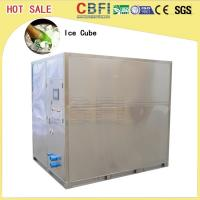 China Less Power Consumption Cube Ice Maker / Small Ice Machine Business 20 Tons wholesale