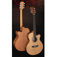 China Superior Full Size Cedar Solidwood Western Guitar / Wood Acoustic Guitar TP-AG28C wholesale