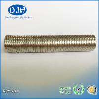 China High Temperature Powerful Large Custom Shaped Neodymium Magnets For Packing on sale