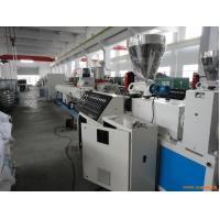 Quality PVC 4 - Cavity Pipe Extrusion Production Line / Plastic Pipe Threading Machine for sale