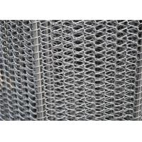 China 304 316 316L 430 310 Stainless Steel Wire Mesh Conveyor Belt With Chian Alkali Resistant wholesale