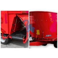 China Red Color Animal Feed Mill Mixer Feeder Wagons For Sheep Stations Standard Type wholesale