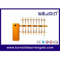 Buy cheap CE Approval Parking Lot Barrier Gate , Outdoor Barrier Road Gate Customized with Aluminum Alloy core product