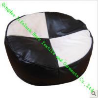 China Indoor Plain Dining Chair Cushions For Kids , Bubble Particle Round Floor Mats wholesale
