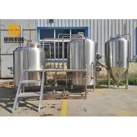 China 1000L Stainless Steel Beer Making Machine Steam Heated For Craft Beer wholesale