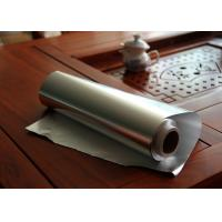 Quality 300mm x 100m Aluminium Foil Jumbo Roll / Heavy Duty Aluminium Foil Roll For Camping for sale