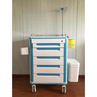China Aluminum Alloy Frame Medical Instrument Trolley Multi Function ABS Body on sale