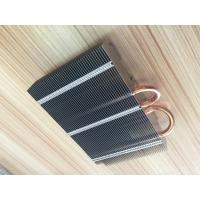 China Custom Aluminum stacked fin heat sink CPU Cooler wholesale
