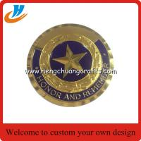 China Gold military coins custom,cheap price metal challenge coins wholesale on sale