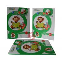 China 250gsm art paper Custom Color Childrens Book Printing with Film laminated coating cover wholesale
