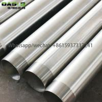 China Stainless Steel Welded  Water Well Casing Screens Pipe Tube Plein Inox Pour Forage wholesale