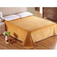 China Cozy Flannel Fleece Blanket Super Soft , Microfiber Plush Throw Blanket On Bed Sofa wholesale
