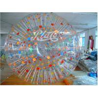 China Color Dots Commercial Giant Inflatable Hamster Ball Customized For Kids wholesale