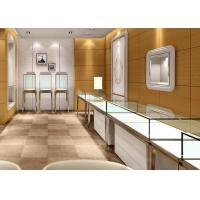 China Jewellery Shop Display Cabinets / Store Display Cases Eco - Friendly Material wholesale