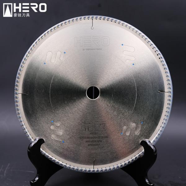 Quality Metal Cutting PCD Saw Blade / Aluminum Alloy Diamond Circular Saw Blade for sale