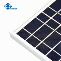 China 6V 4W transparent mini solar panels for mobile solar charger ZW-4W-6V-1 solar panel photovoltaic for solar energy system wholesale