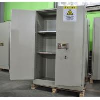 China Grey Hazardous Storage Cabinets , Dangerous Goods Storage Cabinets For Chemicals wholesale