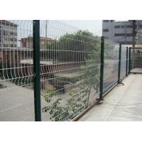 China White Color Triangle Bending Wire Mesh For Garden Fence and Courtyard wholesale