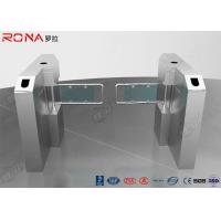 China Glass Swing Gate Turnstile Access Control System 30 Persons / Min Transit Speed wholesale