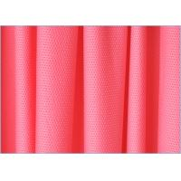 China Warp Knitting Polyester Spandex 4 Way Stretch Mesh Fabric For Sportswear 1.6m * 160gsm on sale