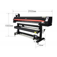 China Large Format Eco Solvent Printing Machine Black Color 71 Inch Sublimation Plotter wholesale