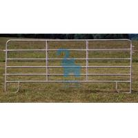 China Horizontal Steel Barriers Corral Fence Panels‎ For Cattle / Goat / Pig wholesale