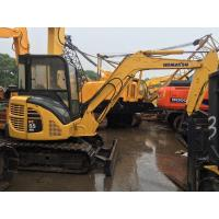 China 12V Voltage Used Earth Moving Equipment Komatsu PC55MR With Rubber Track wholesale