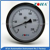 China - 60~600°C Bimetallic Stemmed Thermometer , High Temperature Gauge Thermometer wholesale
