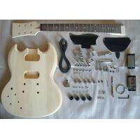 China Basswood DIY Electric Guitar Kits wholesale
