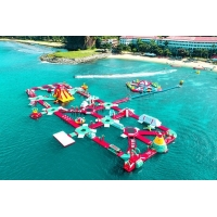 China CE ROHS Approved China best floating inflatable water park for export wholesale