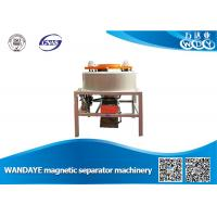 China Kaolin Beneficiation Dry Drum Type Magnetic Separator Machine Low Noise wholesale