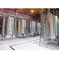 China Stainless Steel Commercial Microbrewery Equipment For Fruit Wine Making wholesale