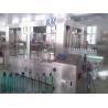 China 6000BPH 500ml Automatic Bottle Filling Machine , 18-18-6 Rinser Filler Capper Machine wholesale