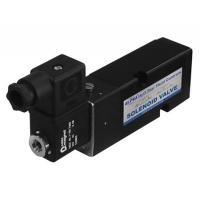 China Black Pneumatic Solenoid Valve 24vdc Short Lead Time With Plate Type wholesale